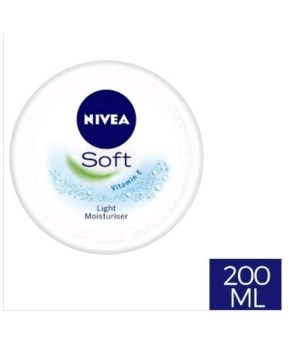 NIVEA® SOFT CREAM 200ml- 24/CS