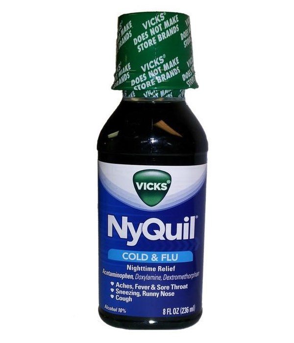 NYQUIL® LIQ 12/8oz- COLD & FLU- ORIGINAL