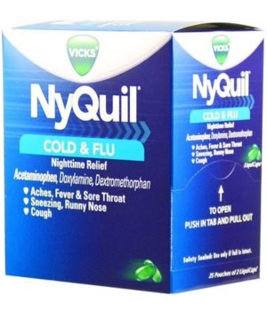 NYQUIL® BOX 25/2's