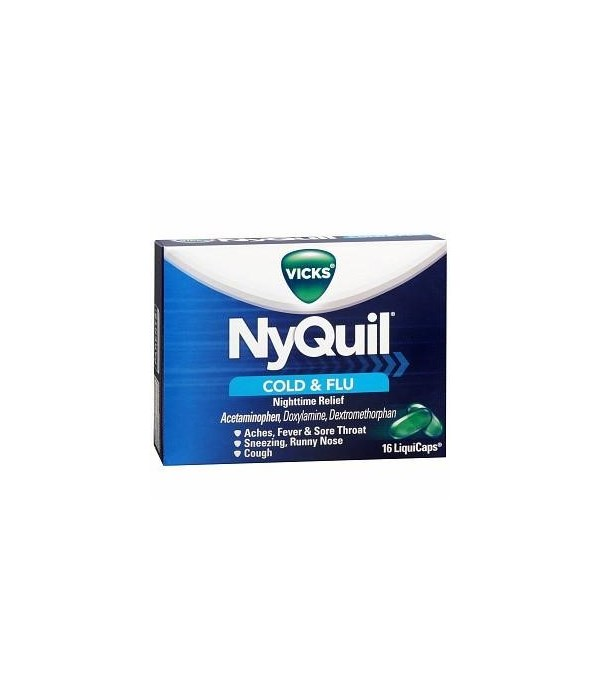 NYQUIL� LIQ CAPS 24/16's