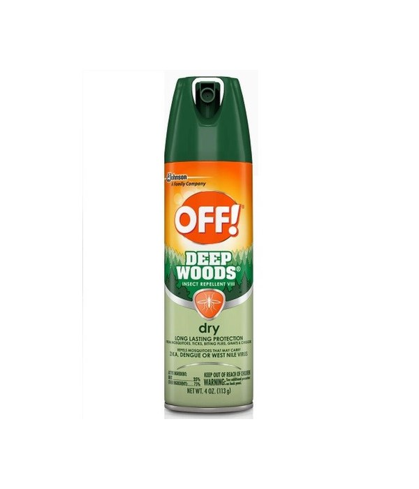 OFF!® FAMILYCARE INSECT REPELLENT DEEP WOOD- DRY-  4 OZ- 12/CS