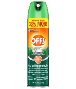OFF!® INSECT REP 6/8OZ SPORTSMAN