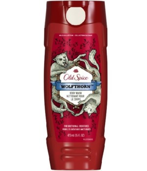 OLD SPICE® BODY WASH 16oz- WOLF HORN -6/CS