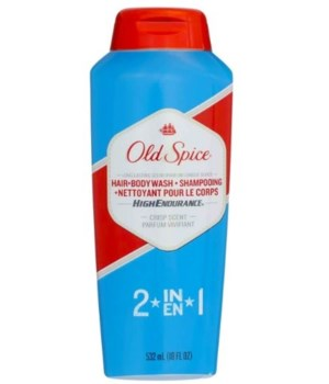 OLD SPICE BW 2N1 18oz- HAIR+BODY WASH -6/CS