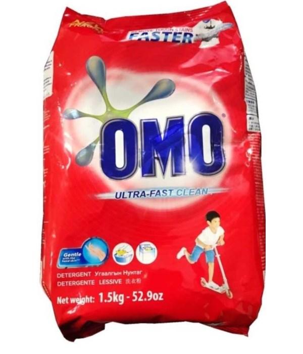 OMO® STD- DETERGENT POWDER 1.5 KG(52.9oz)- 9/CS