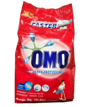 OMO® HS- DETERGENT POWDER 3 KG-  4/CS