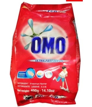 OMO® STD- DETERGENT POWDER 400G (14.10oz)- 36/CS (ITEM# 21030600)