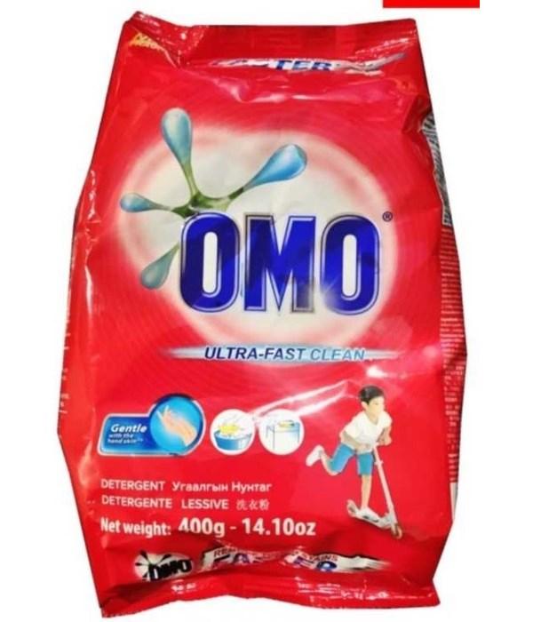 OMO® STD- DETERGENT POWDER 400G (14.10oz)- 36/CS (ITEM# 21030600)