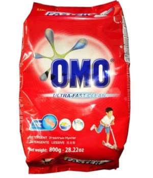 OMO® STD- DETERGENT POWDER 800G(28.22oz)- 18/CS (ITEM# 21030601)