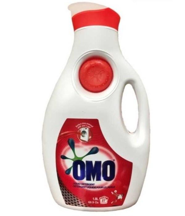 OMO® LIQUID DETERGENT BOTTLE 61 OZ (1.8 LITER) -  6/CS