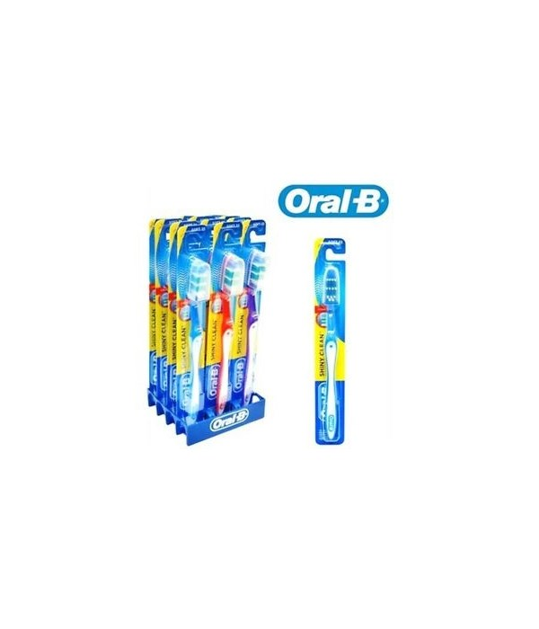 ORAL B® SHINY CLEAN SOFT 12's