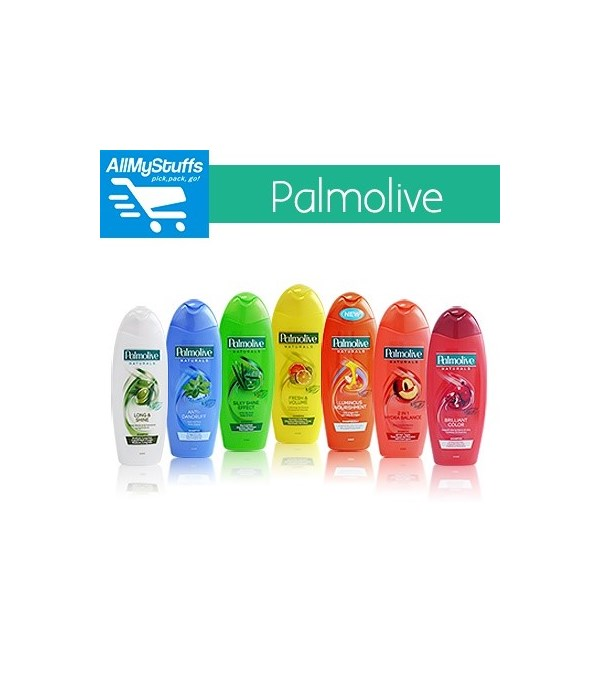 PALMOLIVE® SHAMPOO 350ml- NEW MAN INVIGORATING (ANTI DANDRUFF)- 12/CS
