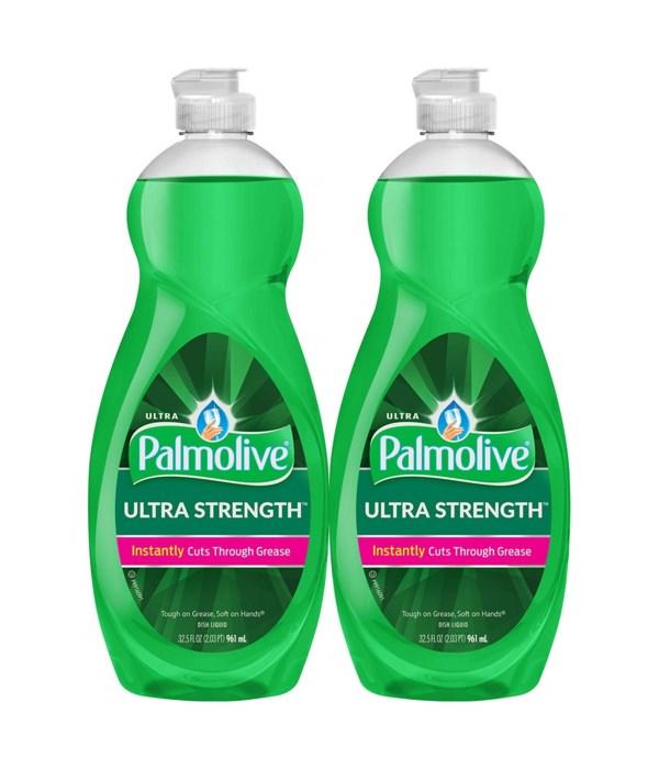 PALMOLIVE® DWL 32.5 OZ (961 ml) - ULTRA STRENGTH ORIGINAL - 4/CS (5369A)