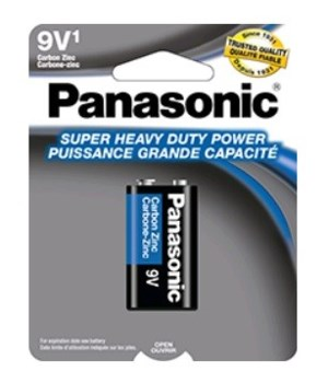 PANASONIC® BATTERY 9V /1