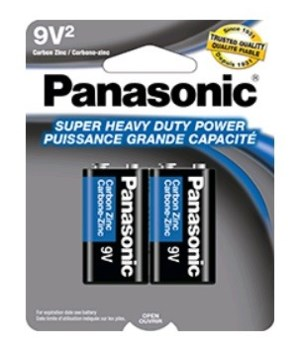 PANASONIC® BATTERY 9V /2