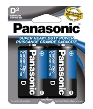 PANASONIC® BATTERY D2 H.D - 48/CS