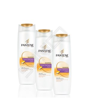 PANTENE® SHAMPOO 170ml- PRO V- TOTAL DAMAGE CARE- 24/CS