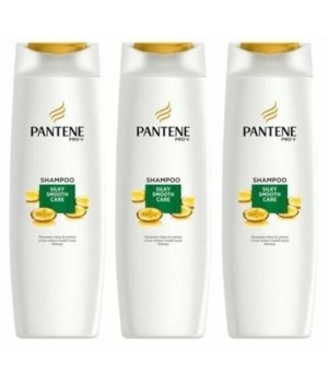 PANTENE® SHAMPOO 340ml- PRO V- SILKY SMOOTH CARE- 12/CS