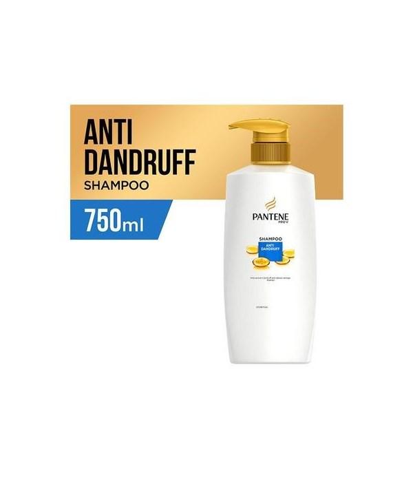 PANTENE® SHAMPOO 750ml- PRO V ANTI DANDRUFF- 6/CS