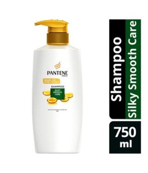 PANTENE® SHAMPOO 750ml- PRO V SILKY SMOOTH CARE- 6/CS