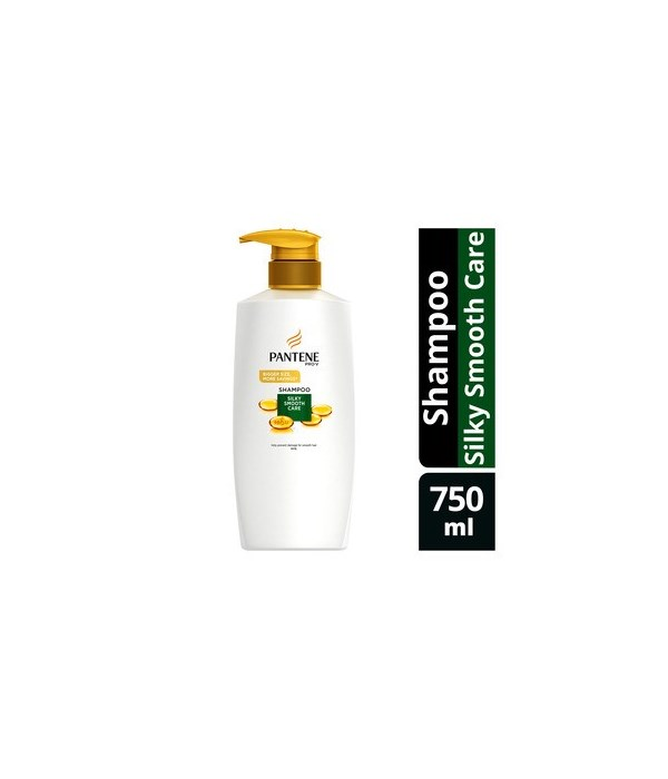 PANTENE® SHAMPOO 750ml- PRO V SILKY SMOOTH CARE- 6/CS