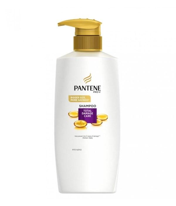 PANTENE® SHAMPOO 750ml- PRO V TOTAL DAMAGE CARE- 6/CS