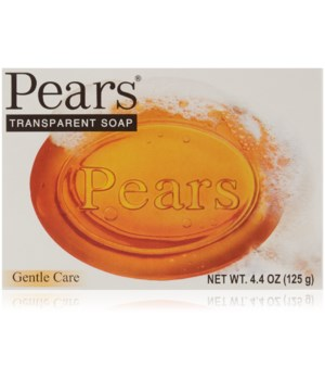 PEARS® BAR SOAP 4.4oz (125 GR) - ORIGINAL- PURE &  GENTLE CARE (AMBER)- 48/CS
