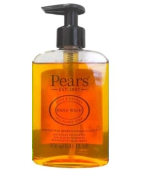 PEARS® HAND WASH 8.41oz (250 ML) - ORIGINAL ( PURE & GENTLE- PLANT OILS) - 12/CS
