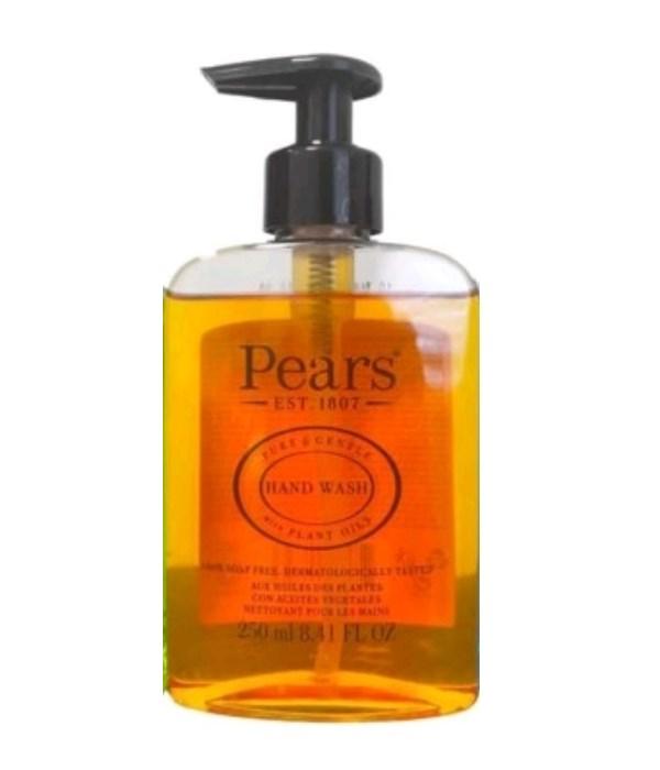 PEARS® HAND WASH 8.41oz (250 ML) - ORIGINAL ( PURE & GENTLE- PLANT OILS) - 12/CS