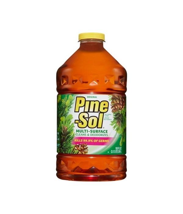 PINE SOL® CLEANER 100oz -ORIGINAL- 3/CS