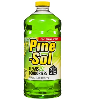 PINE SOL® CLEANER 60oz -SUNSHINE MEADOW- 6/CS