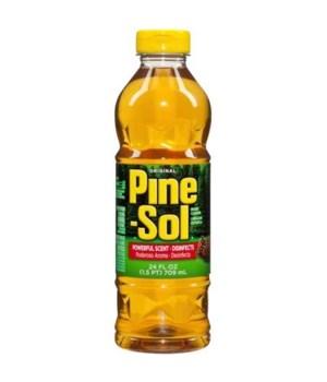PINE SOL� CLEANER 24oz -ORIGINAL- 12/CS
