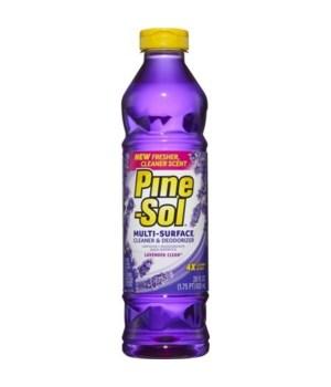 PINE SOL� CLEANER 28oz (828ml) -LAVENDER 12/CS