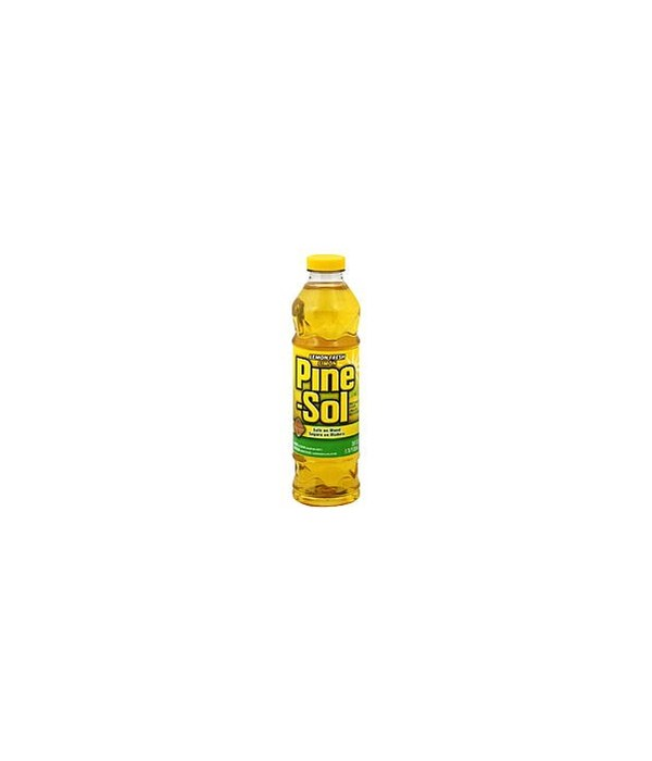 PINE SOL® CLEANER 28oz -LEMON FRESH- 12/CS