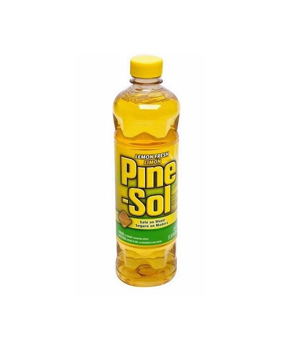 PINE SOL� CLEANER 28oz -LEMON FRESH- 8/CS