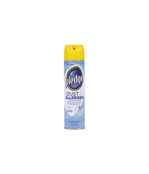 PLEDGE® SPRAY 9.7oz- DUST- 12/CS   (72375)
