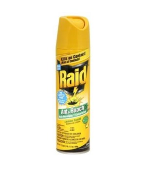 RAID® ANT & ROACH KILLER 12/17.5 oz-LEMON(016479)