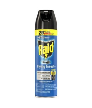 RAID� FLYING INSECT KILLER- 12/18 oz  (20%BONUS)