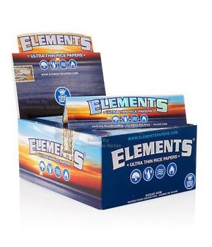 ELEMENTS® CONNOISSEUR KS SLIM + TIPS- 24'S