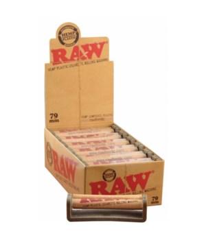 RAW® PLASTIC CIGARETTE ROLLING MACHINE 79MM /12'S