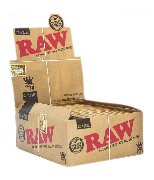 RAW® KING SIZE CLASSIC PAPER 50'S