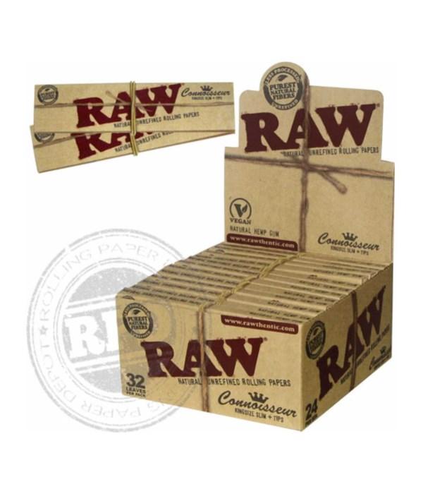RAW® ORGANIC CONE KS 3PKS