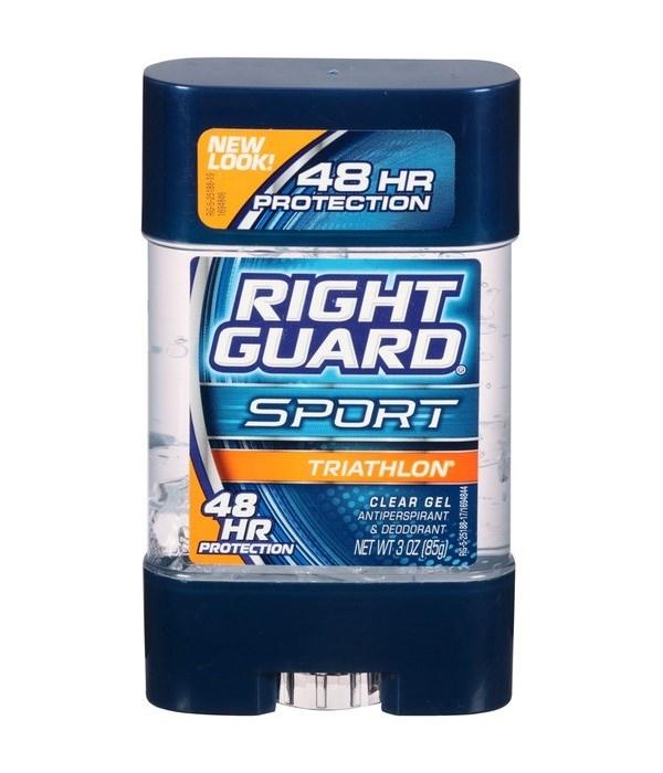 RIGHT GUARD® DEODORANT STICK I/S 3oz- ACTIVE- 12/CS