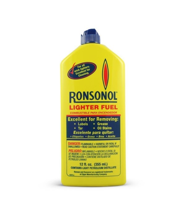 RONSON® LIGHTER FLUID 12oz - 12/CS  (99063)
