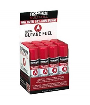 RONSON® MULTI FULL BUTANE- 165gram ( 5.82oz )- 12/UNIT  (99148)
