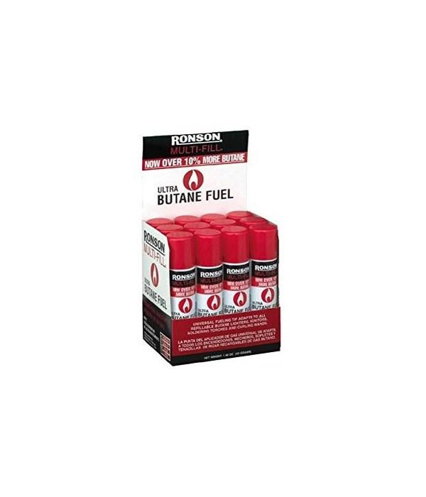 RONSON® MULTI FULL BUTANE- 165gram ( 5.82oz )- 12/UNIT  (99148)