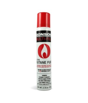 RONSON® MULTI FULL BUTANE- 78gram ( 2.75oz )- 12/UNIT