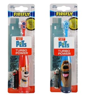 SECRET LIFE OF PETS TURBO TOOTHBRUSH 24/CS