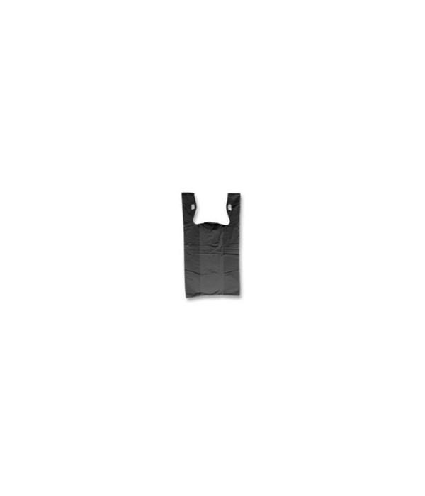 SHOPPING BAG: 1/8TH BLACK - 10 X 5.5 X 17 -  1000/CASE