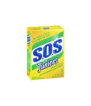 SOS SOAP PADS 6 X 15'S JUNIORS (98027)